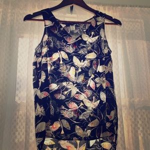 Old Navy black sleeveless blouse